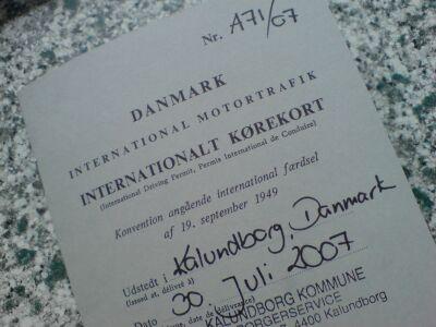 international kørekort danmark
